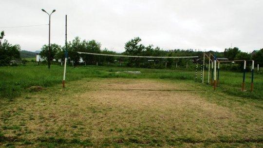 Спортивная площадка села Никольское.