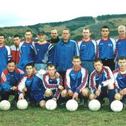 """""""Локомотив"""" (Южно-Сахалинск) перед началом сезона 2002 года."""