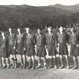 """Первый состав \""""Локомотива\"""", 1948г."""