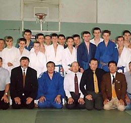 Сахалинская Ассоциация клубов самбо и дзюдо принимает гостей из Японии