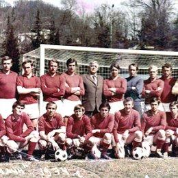 """Футбольный клуб \""""Сахалин\"""". 1974 год"""