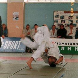 Бросок проводит мастер спорта международного класса Андрей Сероштанов