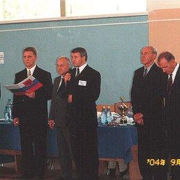 Главный судья турнира Александр Кардаш, президент Сахалинской Федерации дзюдо и самбо