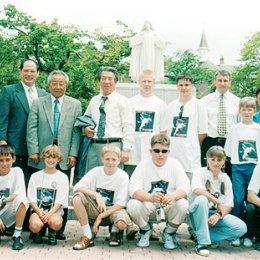 Посещение женского монастыря в г.Хакодате (Япония) август 2004г.
