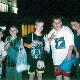 Российские дзюдоисты с японскими родителями Япония август 2004г.
