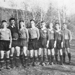 """Юношеская футбольная команда """"Спартак"""", 1952 год"""