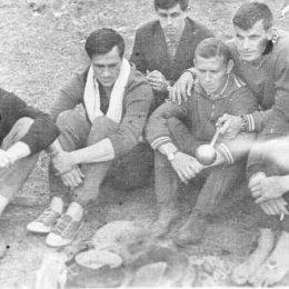 """Южно-Сахалинский """"Шахтер"""" на сборах в Приморье, 1969 год"""