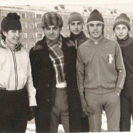 В центре - В.Конмацкий и С.Култышев