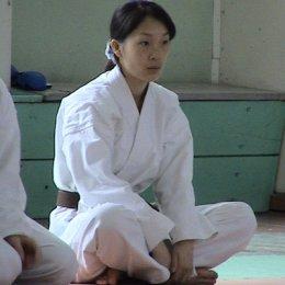 Ким Анастасия, 1 кю (коричневый пояс) Сахалинская Федерация каратэ-до Сетокан