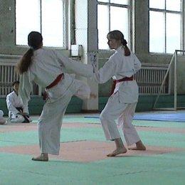 Сахалинская Федерация каратэ-до Сетокан проводит аттестацию спортсменов апрель 2005г.