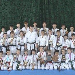 Спортсмены и тренеры Сахалинской Федерации каратэ-до Сетокан