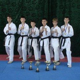 Спортсмены Сахалинской Федерации каратэ-до Сетокан