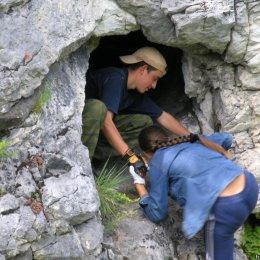 В пещерах горы Вайда