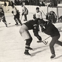 Матч чемпионата области 60-х годов