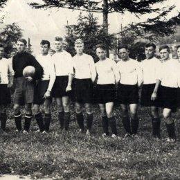 """Сахалинец"" (Долинск), чемпион области 1954 года"