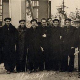 Сборная области, 1956 год
