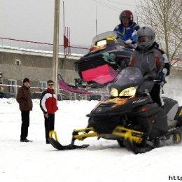 Гонки на снегоходах на Кубок мэра - 2006