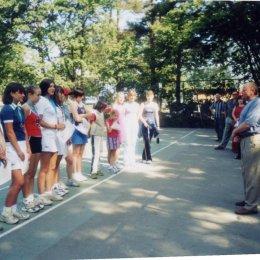 Участники турнира, посвященного Дню молодежи. 1-6.07.2003.