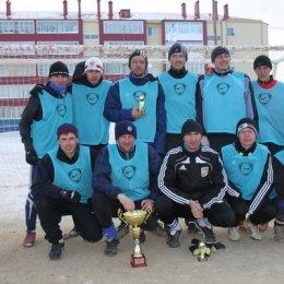 """Команда """"Сахалинская Энергия"""" - обладатель Кубка мэра Ногликского района 2012 года."""