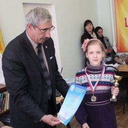 Алиса Кокуева, победительница первенства Сахалинской области 2013 года в среди девочек до 10 лет.