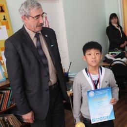 Никита Кицута, победитель первенства Сахалинской области 2013 года в среди мальчиков до 12 лет.