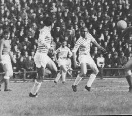 """В 1970 году матчи """"Сахалина"""" на стадионе """"Космос"""" проходили при переполненных трибунах."""