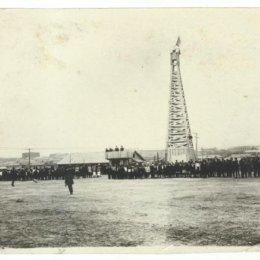 Стадион в Охе, 1931 год.