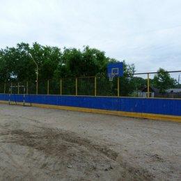 Спортплощадка села Высокое