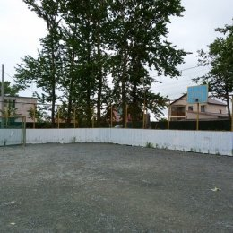 Спортплощадка села Ново-Троицкое