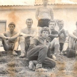 """Футбольная команда """"Тайга"""", 1982 год."""