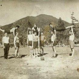 Пионеры спорта на северном Сахалине. Вторая половина 1920-х годов.