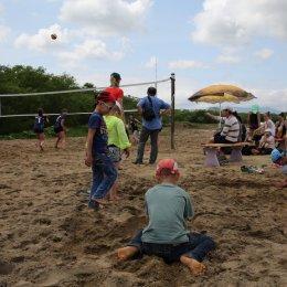 Турнир по пляжному волейболу в Дальнем