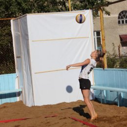 Пляжка на площадке СахГУ