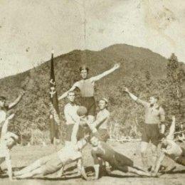 Пионеры спорта на Северном Сахалине.