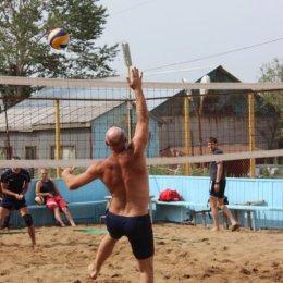 Второй тур чемпионата области по пляжному волейболу