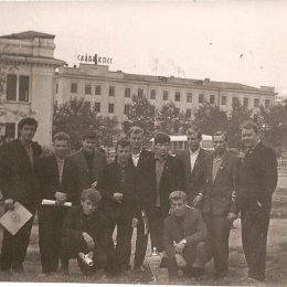 Сборная команда Сахалинской области, ставшая обладателем Кубка Севера 1964 года.