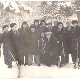 """Локомотив"" (Южно-Сахалинск) на Кубке области в Долинске, 1959 год."