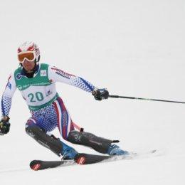 Чемпионат России по горнолыжному спорту. Слалом. Первый день.