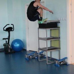 Прыжковая тренировка Виталия Загний
