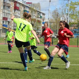 Областной этап турнира «Кожаный мяч» среди девушек 2002_2003 г.р.