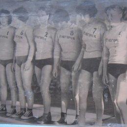 Сборная Углегорска, 1960-е годы.