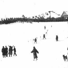 Горнолыжники. Период японской оккупации северного Сахалина (1920-1925).