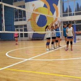 УТС волейболисток в Адлере