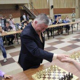Сеанс одновременной игры Анатолия Карпова