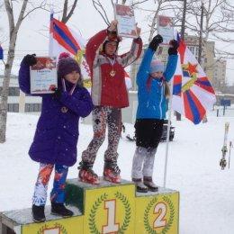 """Соревнования по горнолыжному спорту """"Юные армейцы"""""""