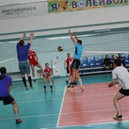 Турнир по волейболу в рамках Спартакиады среди команд учреждений, подведомственных министерству спорта и молодежной политики