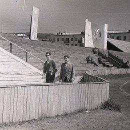 """Стадион """"ДОСА"""" в Южно-Сахалинске."""