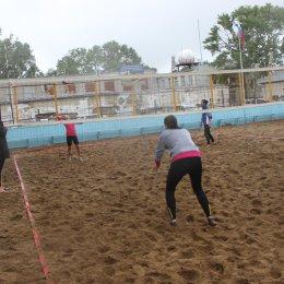 Первый этап чемпионата области по пляжному волейболу