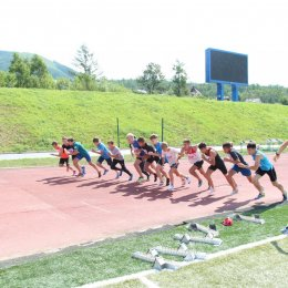 Открытое первенство СШ ЛВС по легкой атлетике
