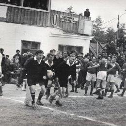 Ветераны советского футбола в Охе, 1967 год